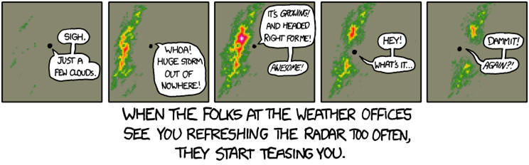 cartoon- rain radar